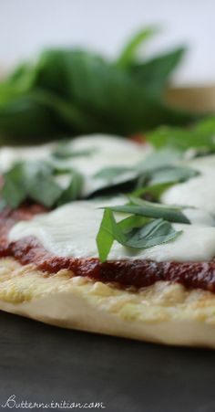 Super Easy Gluten Free Pizza Crust with Rice Flour | Butter Nutrition