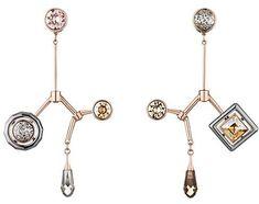b2556a6bd059f Atelier Swarovski by Peter Pilotto Arbol Long Drop Earrings Peter Pilotto