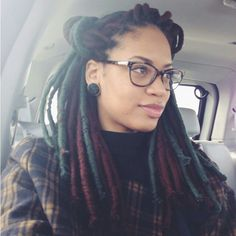 my boyfriends has been interested in these Faux Dreads... I think I want to try some!