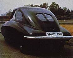 Saab 001, ready to drive in the early July of 1946. Other names of the car is Saab 92001 and Ursaab. The second prototype 92002 was official for the press on June 10, 1947. It was some changes between the cars. Saab 003 was ready for the road around August 1947, and was very similar to car 002.