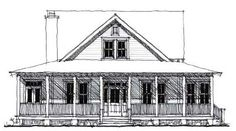 Lowcountry House Plan ID: chp-49742 - COOLhouseplans.com