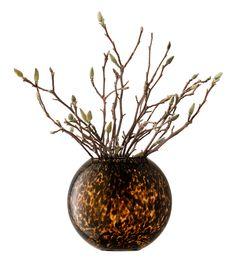 #LSAinternational - collection TORTOISE SHELL - vase - LSA International  http://www.lsa-international.com/