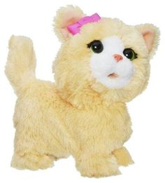 View larger  FurReal Friends Happy to See Me Pets My Bouncin' Kitty FurReal Friends plush pets are full of exciting engaging pretend pet play. Get ready to snuggle smile and laugh out loud when ...