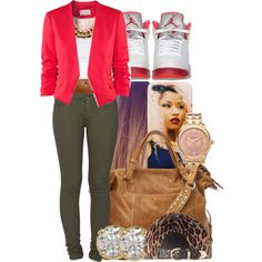 Girl, you know it feels so right and by the end of the night, know I'm gonna leave with you. Shawty, what you gon' do?, created by ayoyagirlmimgirlkeepitmindless on Polyvore