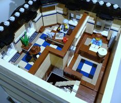 18 Second Floor - Overview Corner Office, The Office, Lego Office, Receptionist Desk, Waiting Area, Floor Patterns, Second Floor, Ground Floor, Legos