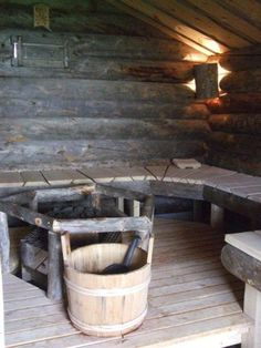 Finnish Log Sauna (kelo) - Professional log (kelo) builders from Finland