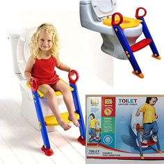 Childrens Toddler Kids Baby Toilet Potty Training Chair Step Up Ladder Seat Does not apply | eBay