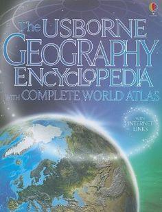 The Usborne Geography Encyclopedia with Complete World Atlas: Gillian Doherty, Anna Claybourne, Susanna Davidson: 9780794526986: Amazon.com: Books