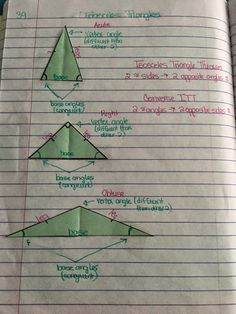 misscalcul8: Geometry Unit 4: Triangles Interactive Notebook