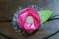 Something About Katie: Ribbon Flower Tutorial