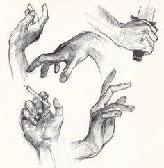 hand studies by greyfin.deviantart.com on @deviantART