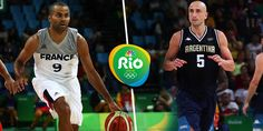 Hats off to @manuginobili and @tonyparker! Both played their final games of their international careers. #FRA #ARG