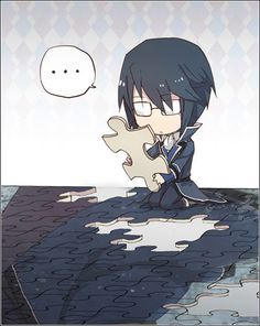 K Project ~~~ The Blue King Tries to Put the Puzzle Together Again ::: Munakata Reisi