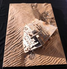 "Stefan Hacker's Star Wars Episode VII Diorama ""The Remains of an Empire"" Part1 - Modelers Miniatures & Magic"