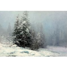 Oil Painting Classes Near Me Oil Painting Pictures, Painting Snow, Watercolor Pictures, Winter Painting, Winter Art, Art Pictures, Watercolor Paintings, Watercolor Landscape, Landscape Art