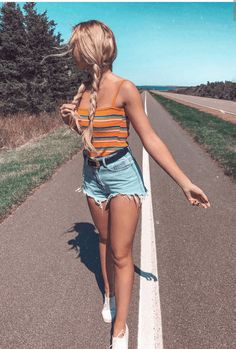 45 Catchy Summer Outfits To Impress Everyone / 017 #Summer #Outfits Stylish Winter Outfits, Casual Summer Dresses, Cute Summer Outfits, Classy Outfits, Stylish Outfits, Spring Outfits, Edgy Teen Fashion, Summer Fashion For Teens, Fall Fashion
