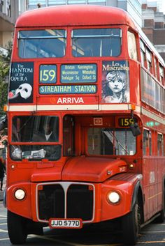 №159 Routemaster: London buses were not always red; before 1907, different routes had different-coloured buses