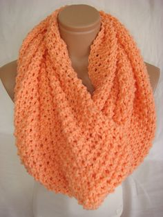 Hand Knitted Hooded Cowl/Scarf/Neck warmer (Solmon) by Arzu's Style So pretty!!