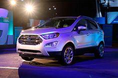 Ford Ecosport reestilizado aparece nos Estados Unidos.  Leia mais