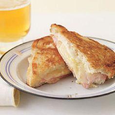 Croque Monsieur pour Vous et le Pup: A French grilled sandwich that's sure to please your pup.