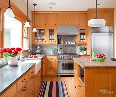how to paint a kitchen cabinet a more modern look with oak cabinets stainless steel 8786