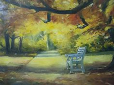 Study-Autumn Scene,2014,Oil on Canvas,18 by 24 Inches