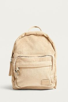 Shop BDG Mini Corduroy Backpack at Urban Outfitters today. Small Backpack, Mini Backpack, Backpack Bags, Fashion Backpack, Bags For Teens, Girls Bags, Cute Backpacks, School Backpacks, Vintage Backpacks
