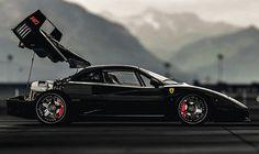 Ferrari F40 Custom by Gas Monkey Garage
