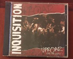 INQUISITION UPROAR LIVE AND LOUD! 2 CDs