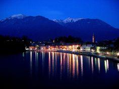 Mergozzo by night  Bandiera Arancione Touring Club