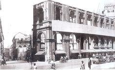La Rinascente distrutta dal bombardamento del 1943