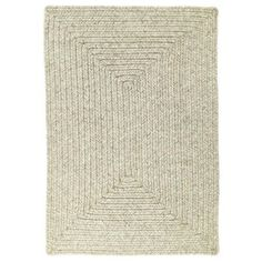 Homespice Slate Braided Rectangle Rug - (2 foot 3 inch x 3 foot 9 inch), Grey