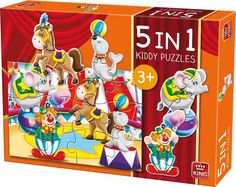 Kiddy 5in1 Circus puzzel