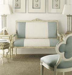 I never tire of Suzanne Kasler for Hickory Chair. So gorgeous!