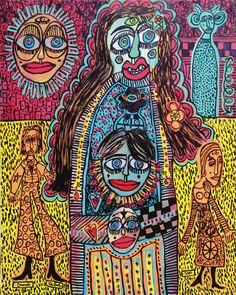 Outsider Art, Graffiti Art, Cobra Art, Classical Realism, Bad Art, Art Brut, Art Sites, Naive Art, Aboriginal Art