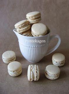 Delicate Tiramisu macarons