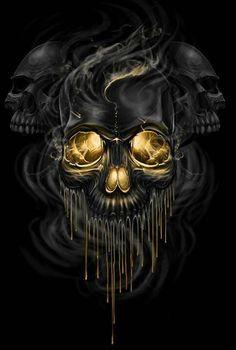 pin by ru stem halilov on skulls pinterest creative art artsy rh pinterest com Skull Clip Art skull images clip art