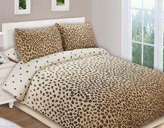Modern Bedding Designs Leopard Print Duvet Covers Pillowcases Flat Sheet Polyester Twill Twin Full Queen Bed Sets 4pcs 38 20 46 93 Pinterest F