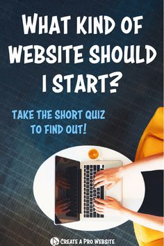 Thinking about starting a website and wondering what kind you should start? Take this quiz and find out which kind of website best suits your personality and goals! Enter in your email at the end of the quiz to get our FREE 5-day eCourse on how to start a website as well! #makeyourownwebsite