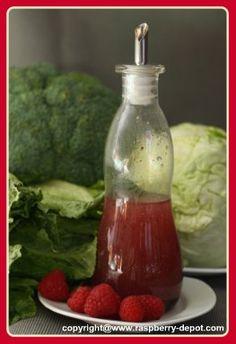Raspberry Salad Dressing Recipe picture (make your own raspberry vinegar and salad dressings)
