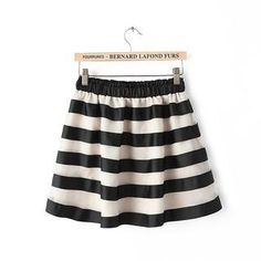 Buy 'JVL – Elastic-Waist Striped Tulle Skirt' with Free International Shipping at YesStyle.com. Browse and shop for thousands of Asian fashion items from China and more!