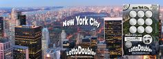 Suddenly.. New York City | Lotto Doubler instant lottery