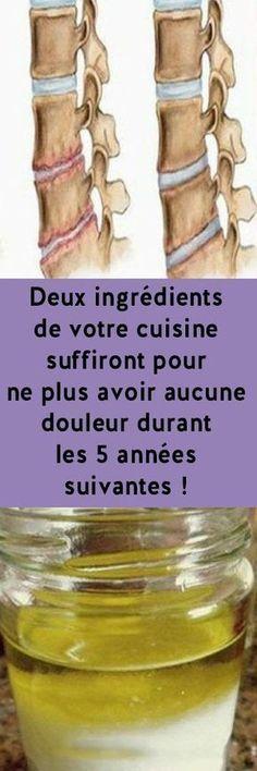 Deux ingrédients de votre cuisine suffiront pour ne plus avoir aucune douleur durant les 5 années suivantes !
