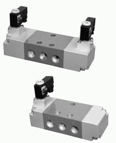 5-2, 5-3 solenoid and 5-2 pneumatic pilot operated DN10 valves