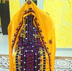 Hand embrodery Baluchi dress