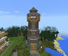 #Torre #Medieval Minecraft #Minecraftpe #Builder #Games #Gamer +❤