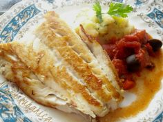 Cod with tomatoes, olives and chorizo recipe | Light, tasty and ...