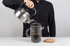 A flexible coffee system for French press, pour-over, and cold brew