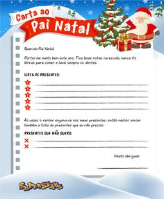 Carta para o pai natal online dating