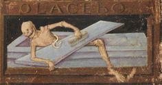 Medieval undead. Book of Hours, Savoy 1490.    Sarnen, Benediktinerkollegium, Cod. membr. 35, fol. 56r